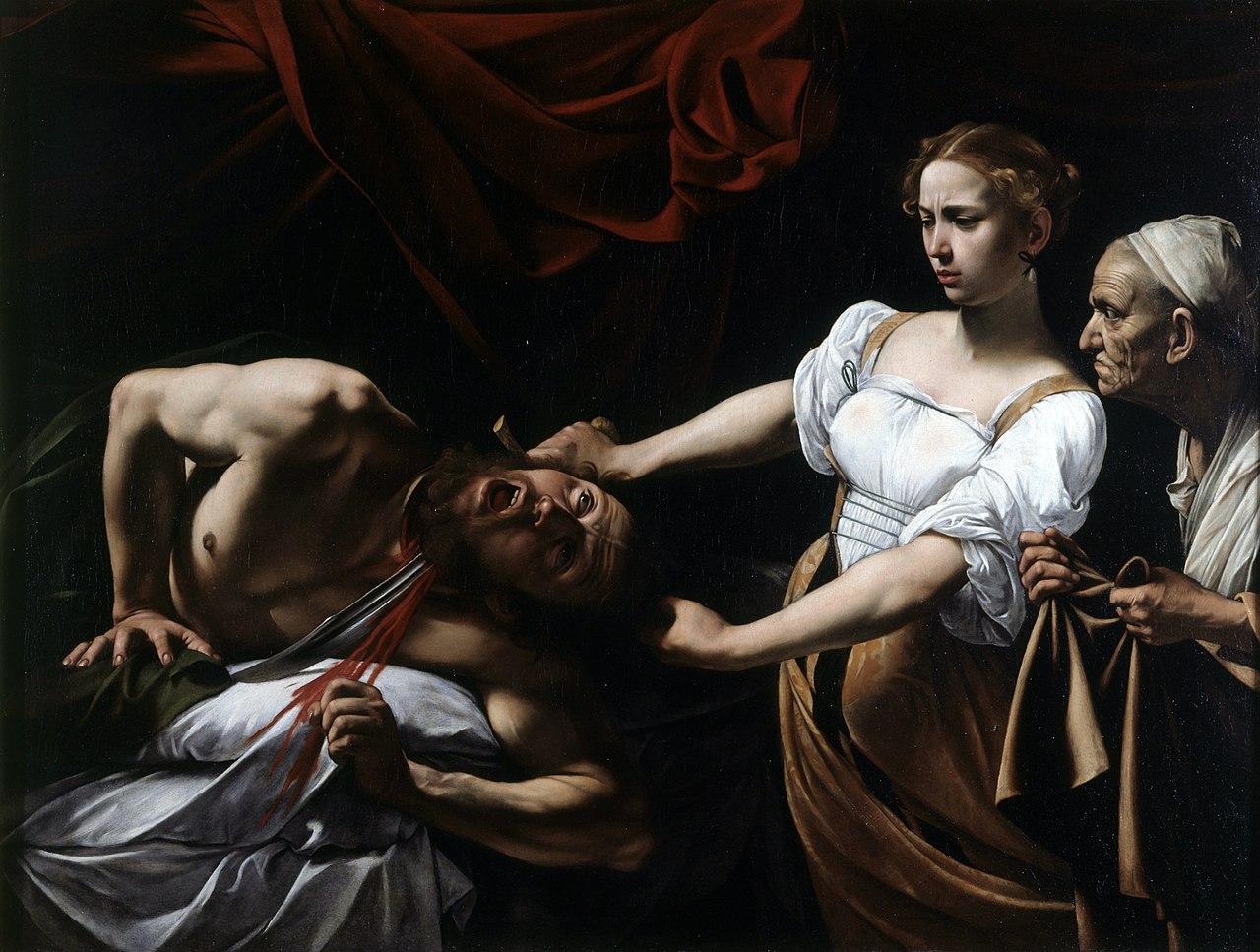 Judith et Holopherne ou Judith décapitant Holopherne - Le Caravage