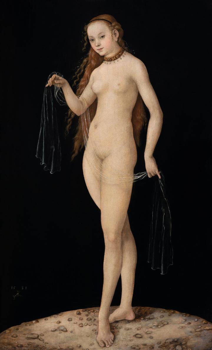 Lucas Cranach, Vénus, 1531