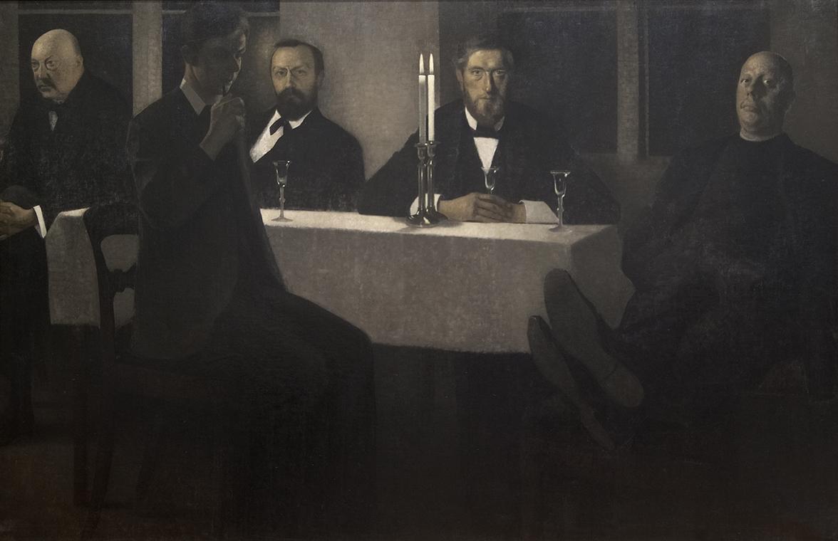 Cinq portraits de Vilhelm Hammershøi
