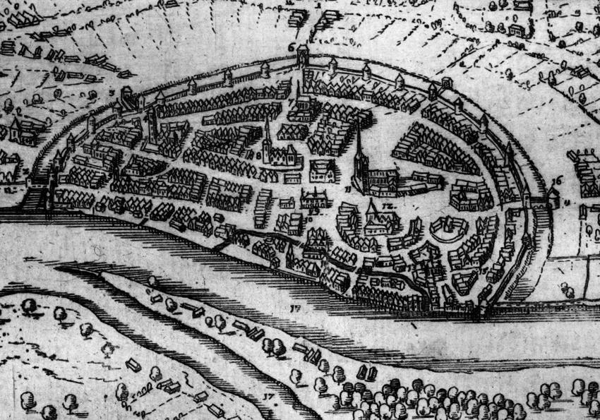 Plan de Brême 1604 - Bremen