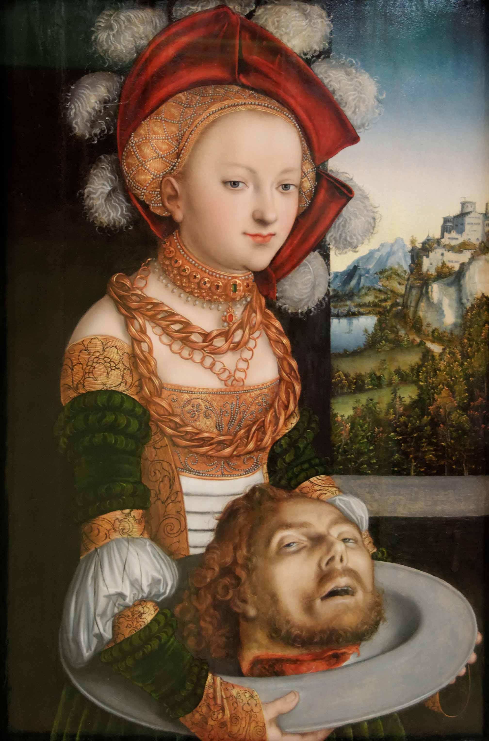 Salomé avec la tête de Saint Jean-Baptiste - Lucas Cranach