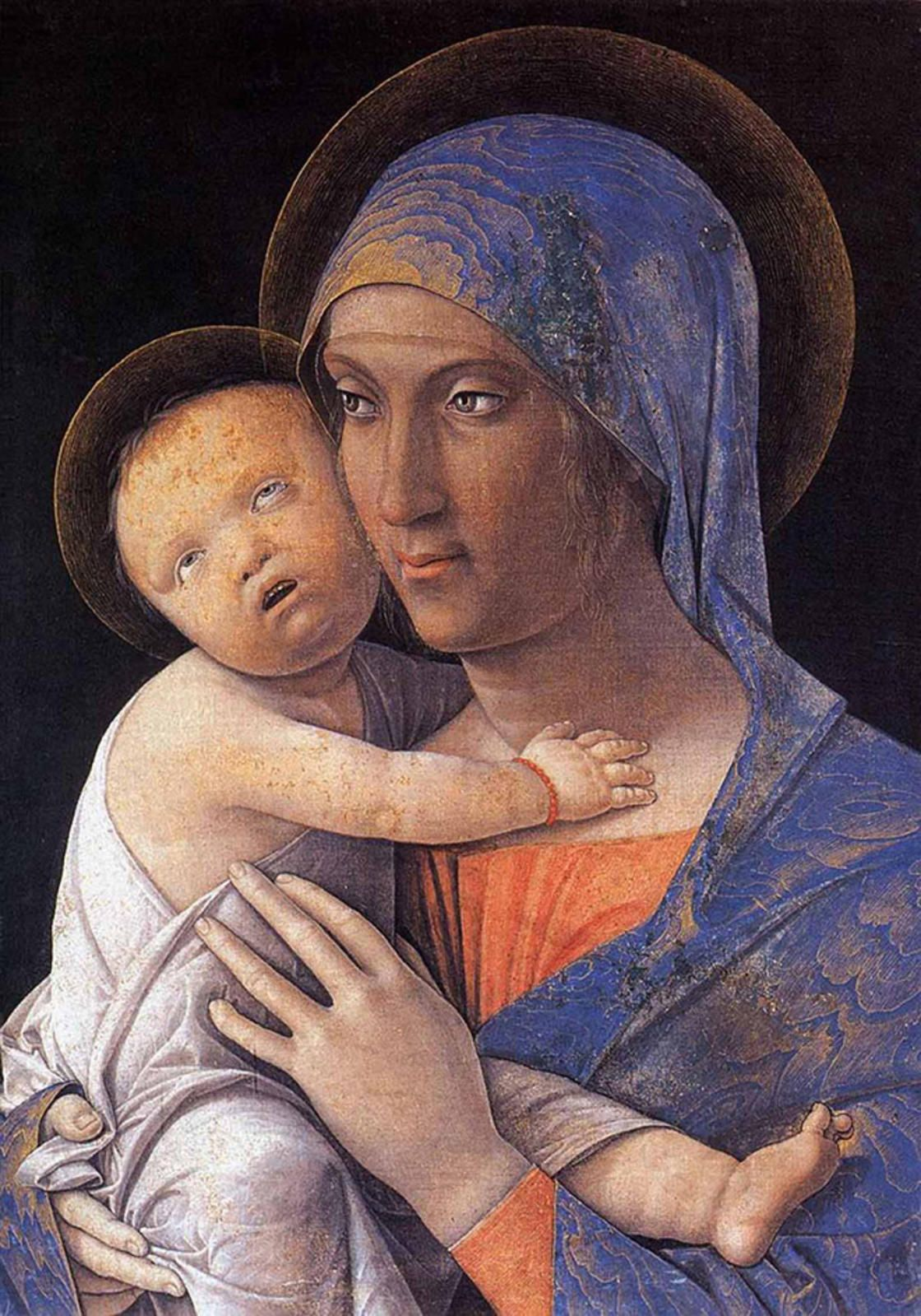 Madonna and Child (Mantegna, Bergamo)