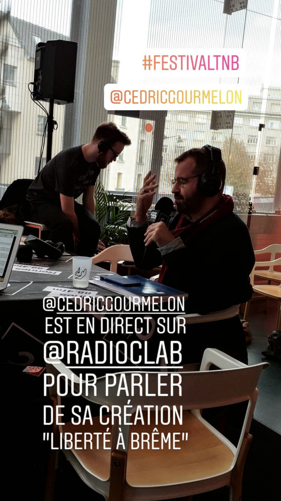 Cédric Gourmelon - c-lab - festival TNB